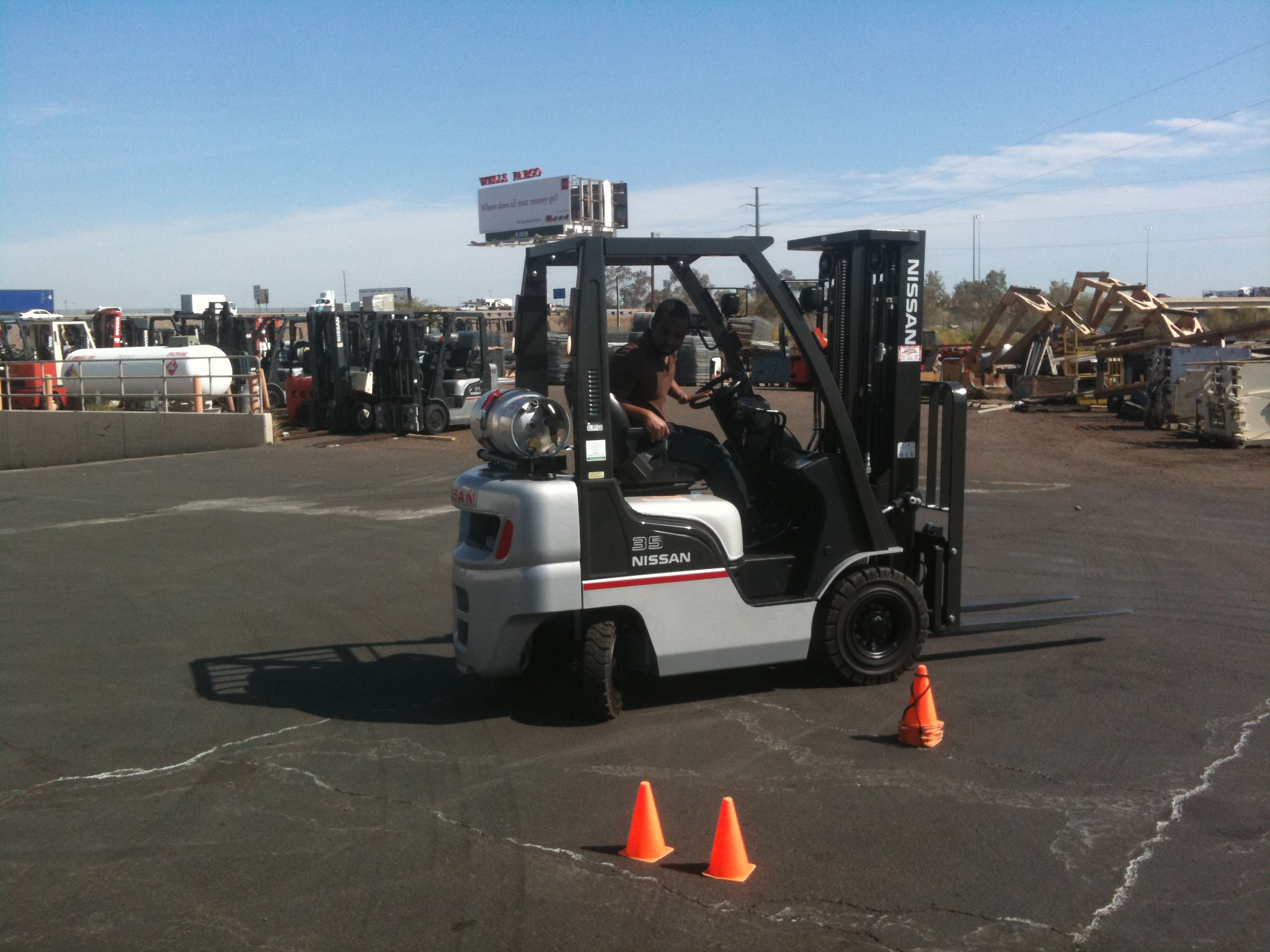 Forklift training in phoenix hands on driver training xflitez Choice Image